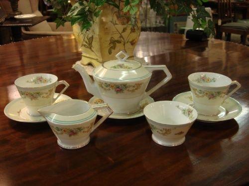 Onwijs Lovely Art Deco Period Porcelain Noritake Tea For Two Tea Service YY-83