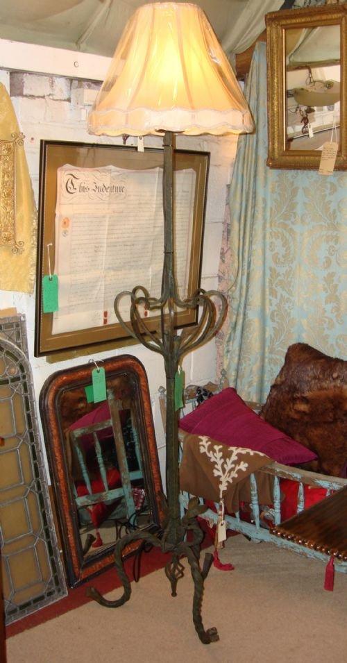 victorian verdigris and bronzed cast iron art nouveau period