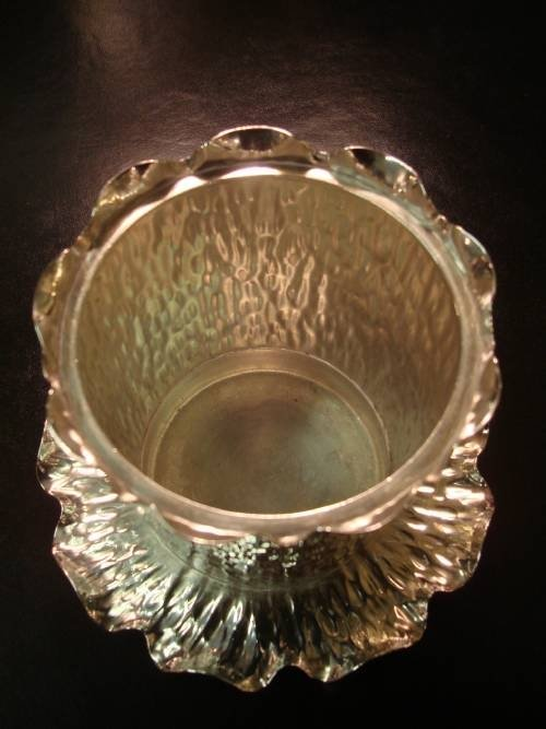 19th century victorian superb silver plate biscuit barrel by famed makers hukin and heath - photo angle #4