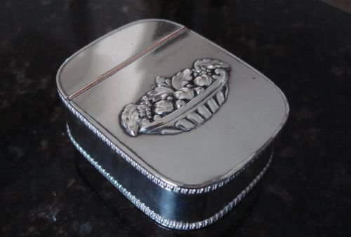 Early 19th Century Old Sheffield Plate Snuff Or Tobacco Box