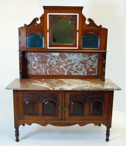 Dressing Table Vanity Unit Wash Stand Victorian Antique 92831