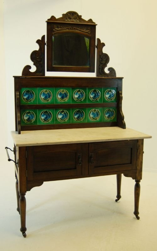 dressing table vanity unit wash stand antique marble - Dressing Table Vanity Unit Wash Stand Antique Marble 93883