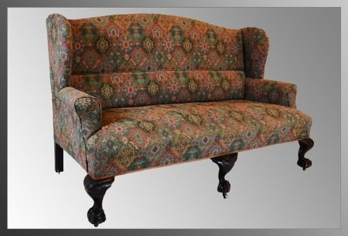 Sofa 2 Or 3 Seater Antique Victorian Couch Settee High