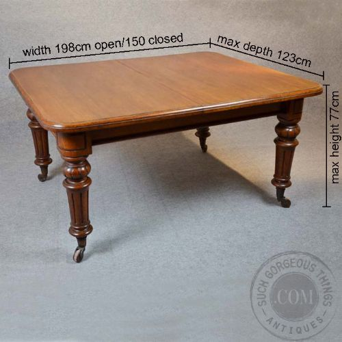 Antique Oak Dining Kitchen Table Large Seats 4 8  : dealersgthingsfull1349903134781 1546444569 from www.sellingantiques.co.uk size 500 x 500 jpeg 38kB
