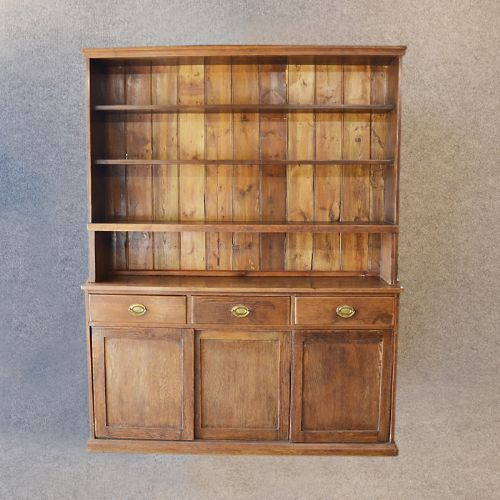 Country Kitchen Dresser: Antique Victorian Pine Dresser Welsh Country Kitchen