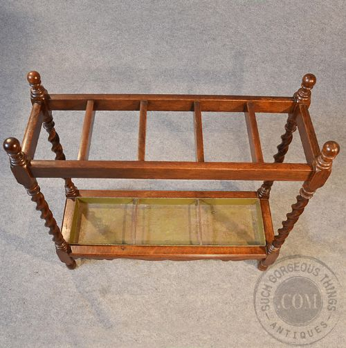 Antique Hall Walking Stick Stand Umbrella Cane Rack