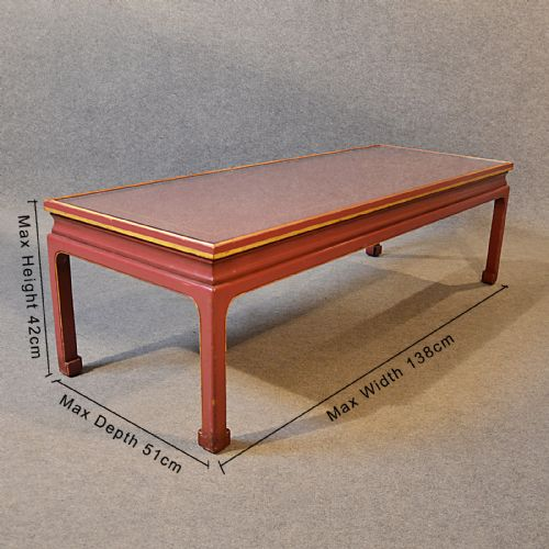 Coffee table low sofa magazine lounge table oriental asian for Low sofa table
