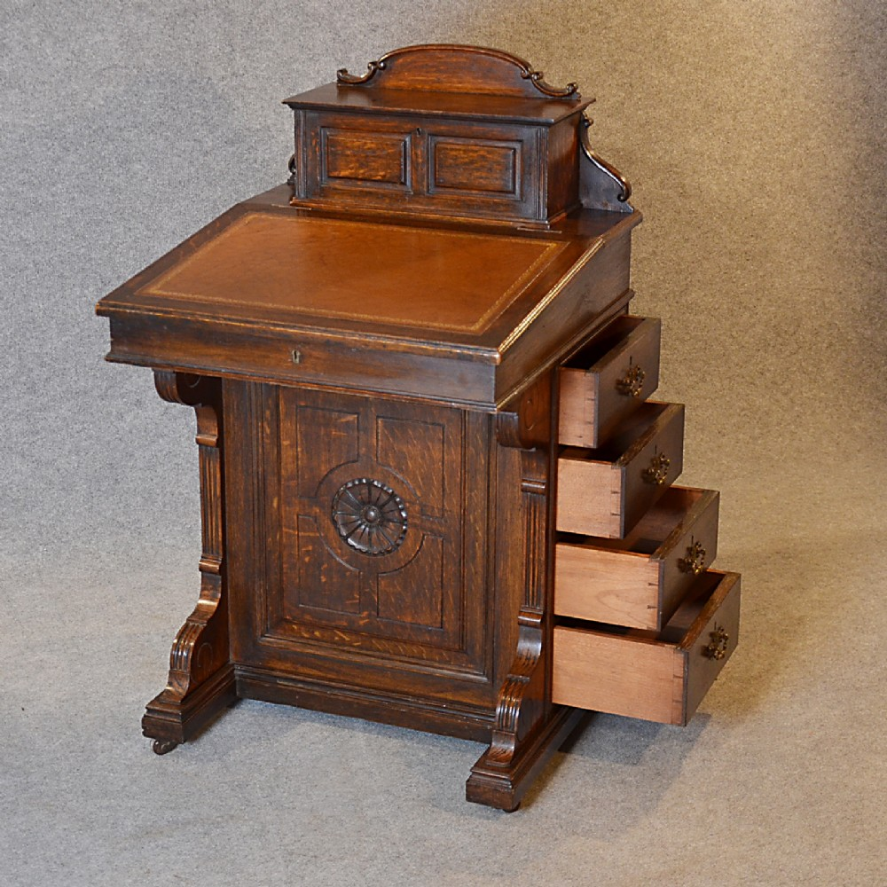 Antique Davenport Desk Victorian - 279.2KB