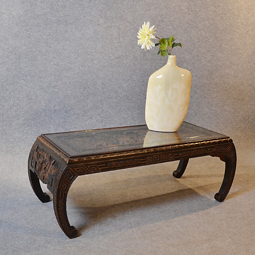 Coffee Table Low Sofa Magazine Lounge Table Oriental Asian