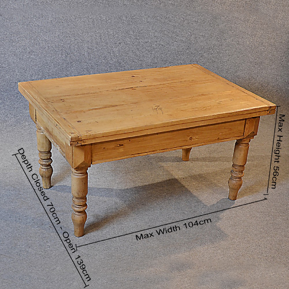 Victorian Pine Coffee Table: Antique Coffee Table Victorian Pine Low Sofa Magazine