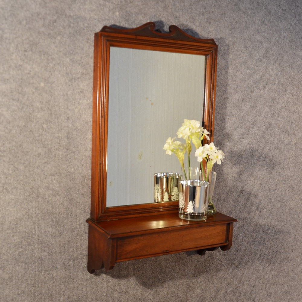 Antique wall mirror english hall dressing vanity bathroom for Mirror designs
