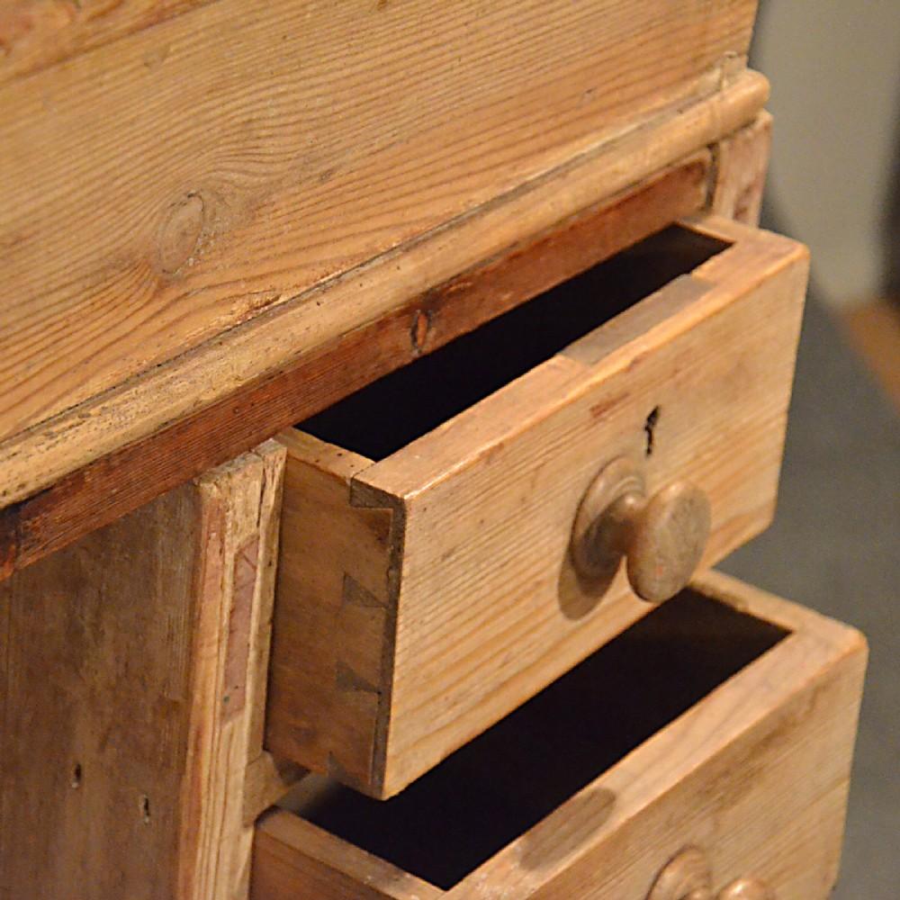 The Downing Street Executive Curio Desk: Antique Standing Desk Study Office Clerks Bureau Workspace