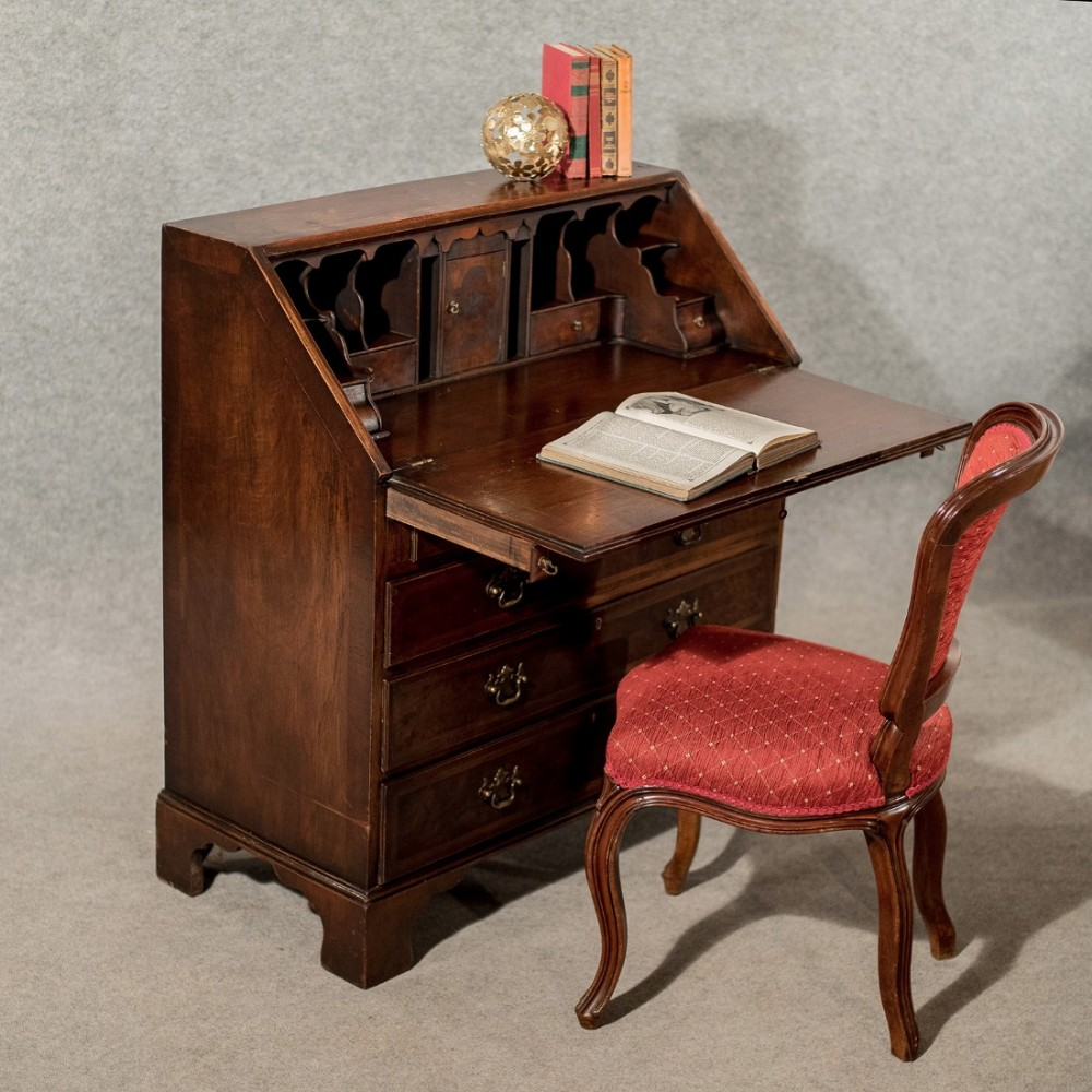 antique bureau desk antique furniture. Black Bedroom Furniture Sets. Home Design Ideas