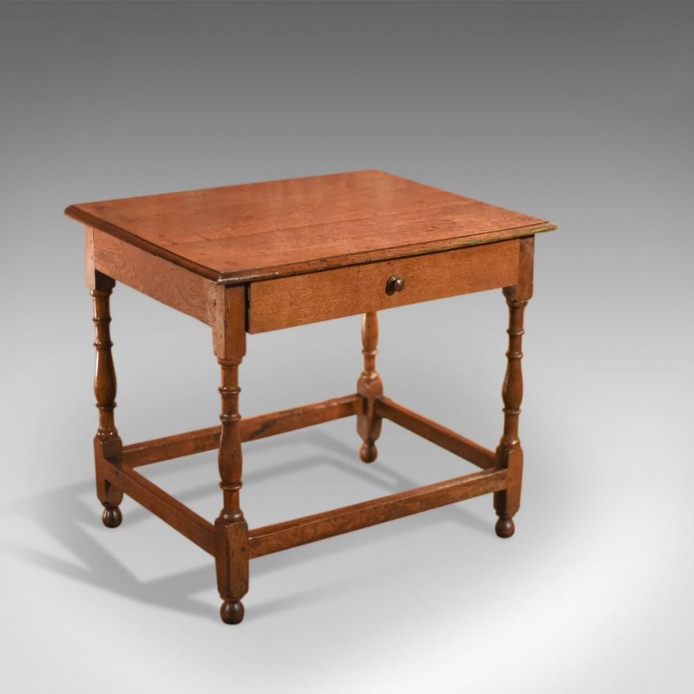 antique occasional table victorian oak c1850