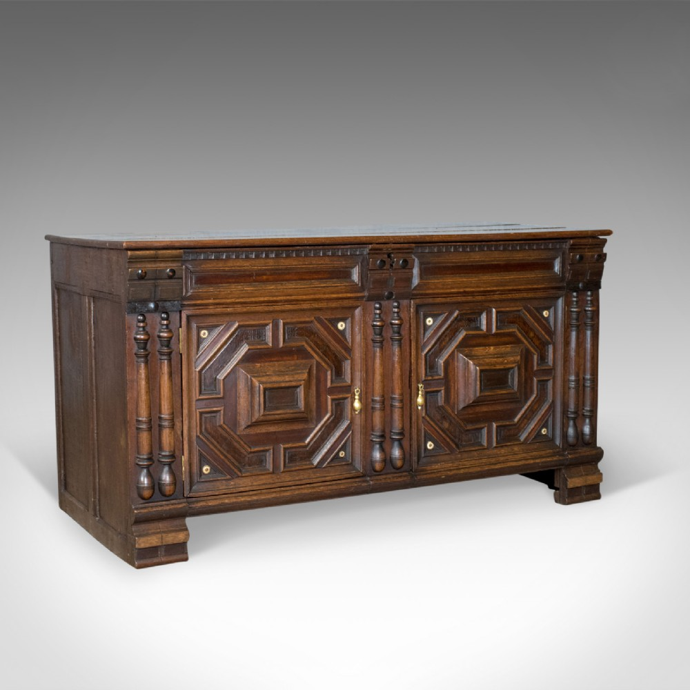 antique chest french coffer oak early 19th century circa 1800
