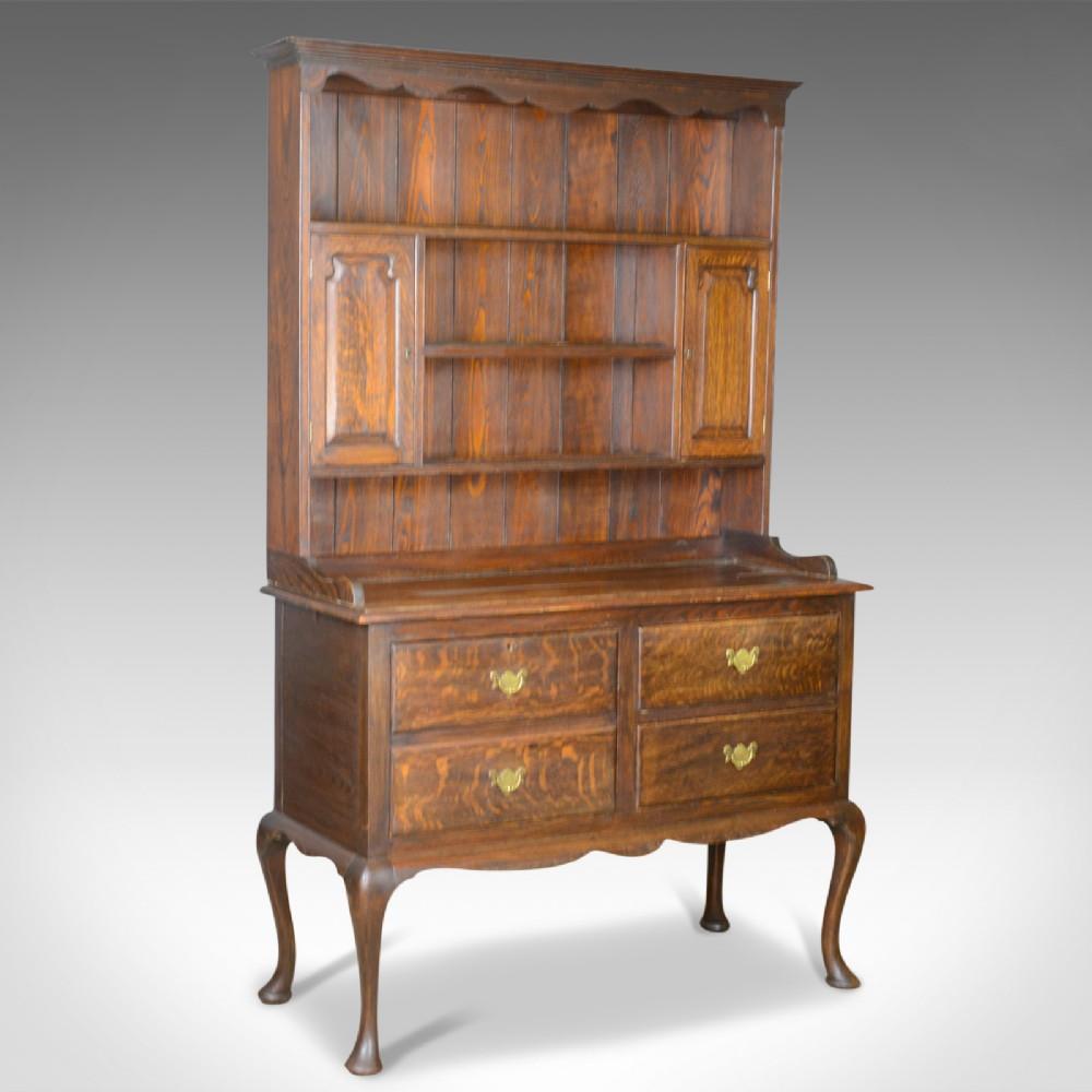 antique dresser english oak victorian country kitchen sideboard circa 1870
