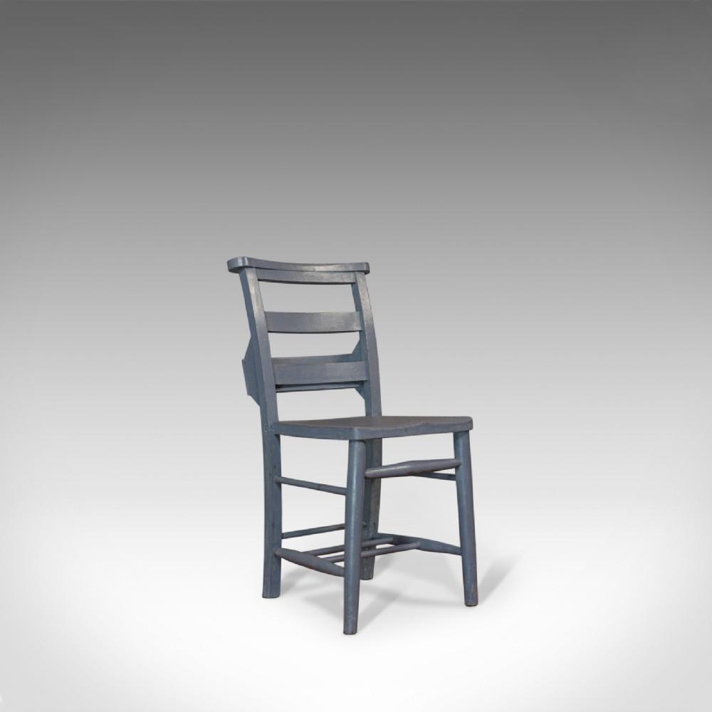antique school chair english victorian beech educational seat circa 1900