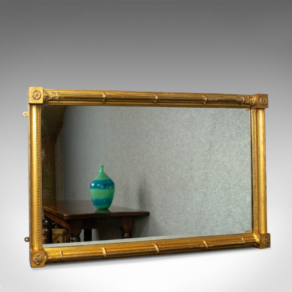 antique wall mirror english georgian giltwood console circa 1800