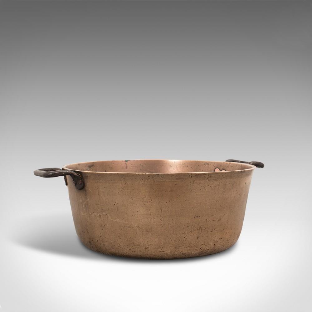 antique jam pan english bronze preserves cooking pot late 18thc circa 1800