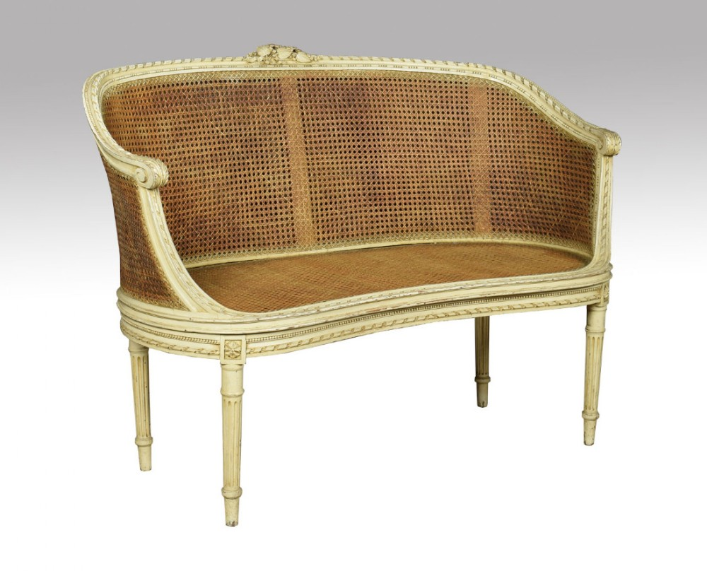 French Louis Xvi Style Canape Settee | 430947 ...