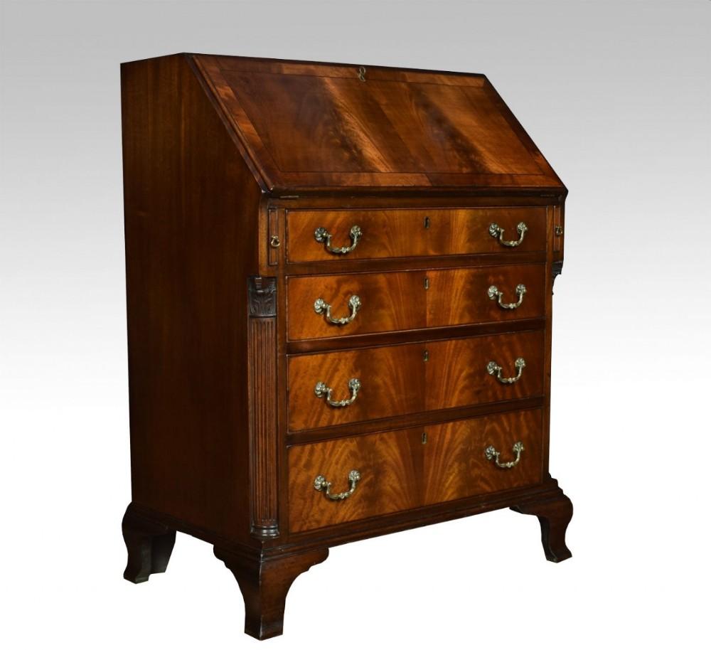 early 20th century mahogany bureau