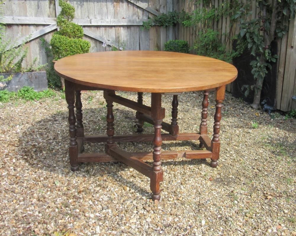 Heal 39 S Solid Oak Gateleg Dining Table 357355