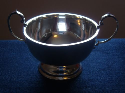 stunning art deco silver sugar bowl and cream jug - photo angle #2