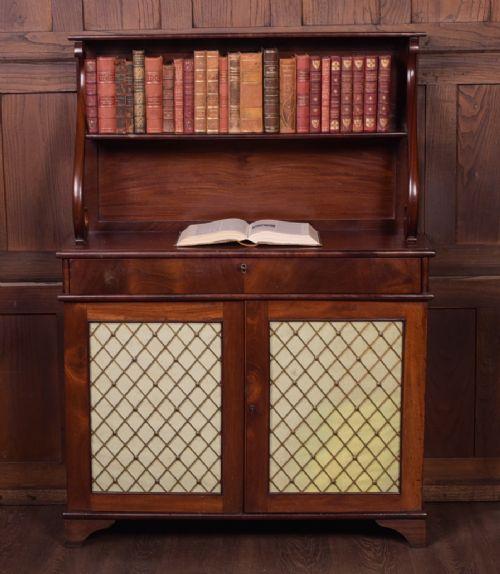 fine example of a regency mahogany chiffonier