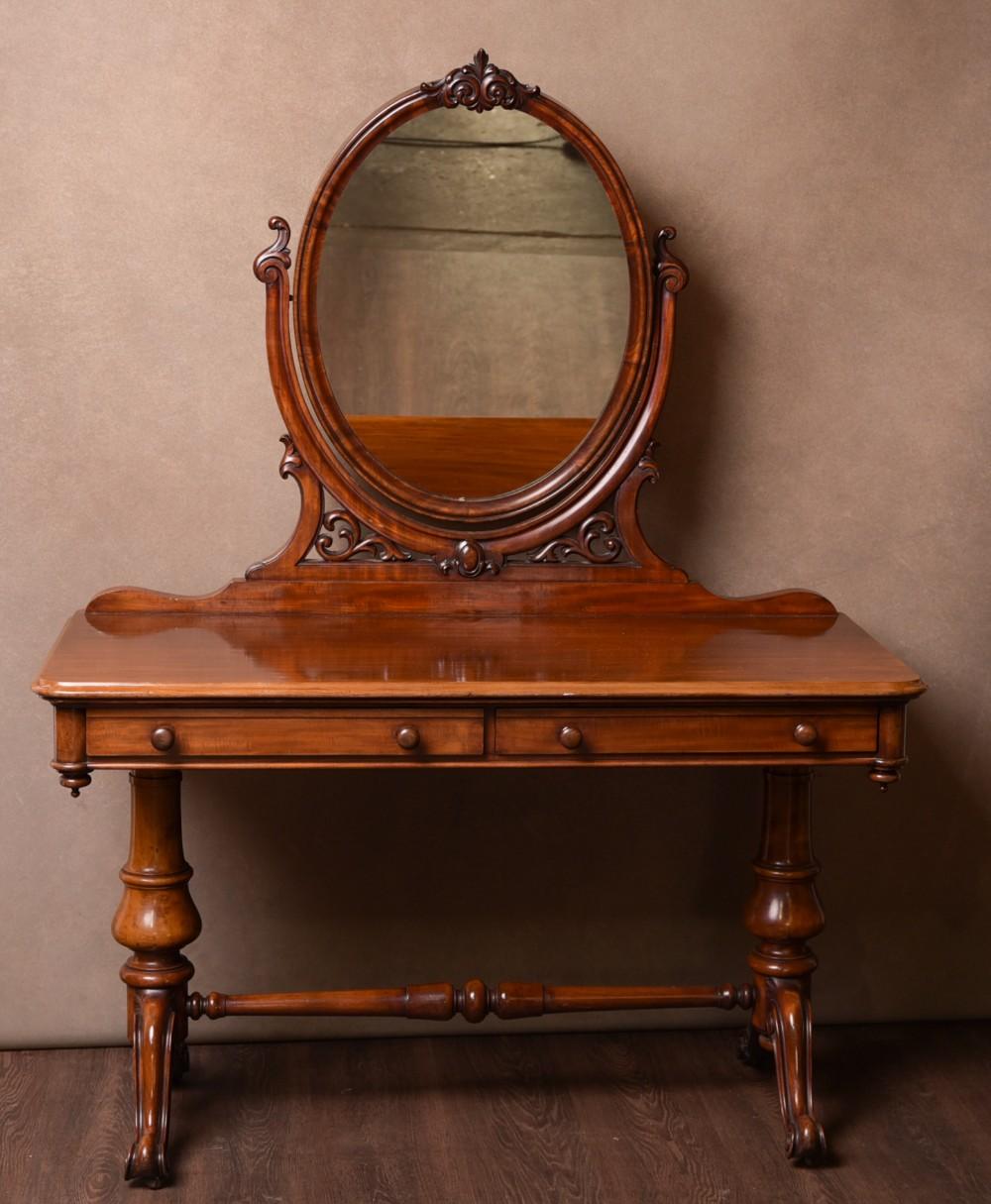 fabulous victorian mahogany dressing table