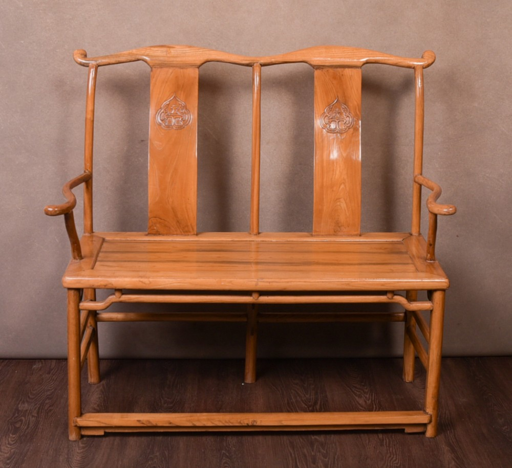 late 19th century chinese bench