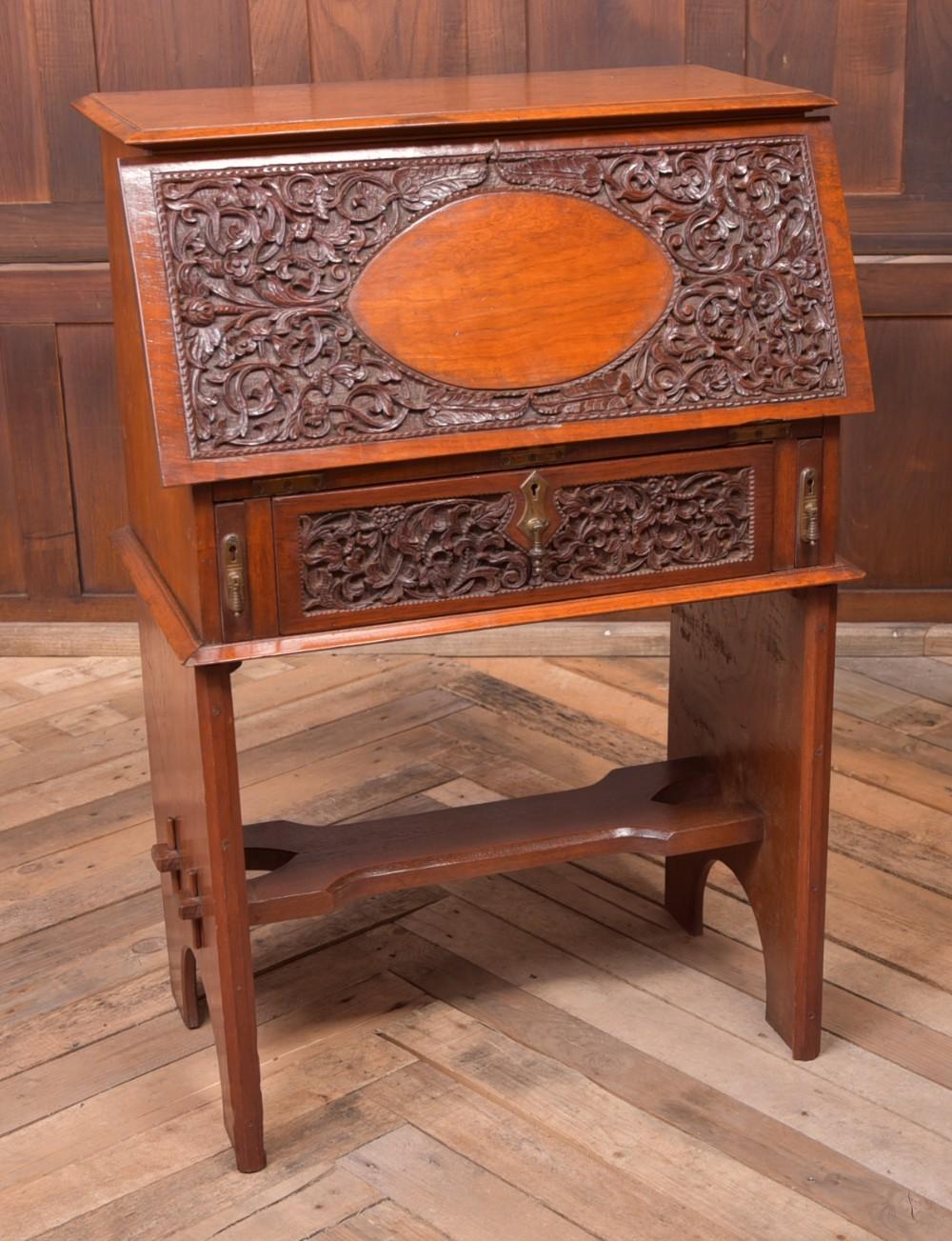 unusual angloindian elm bureau
