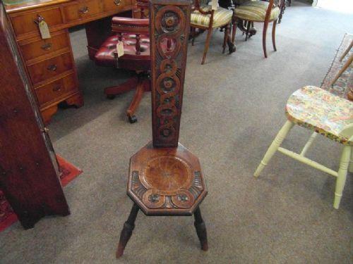 Wondrous Art Nouveau Spinning Wheel Chair 376828 Sellingantiques Creativecarmelina Interior Chair Design Creativecarmelinacom
