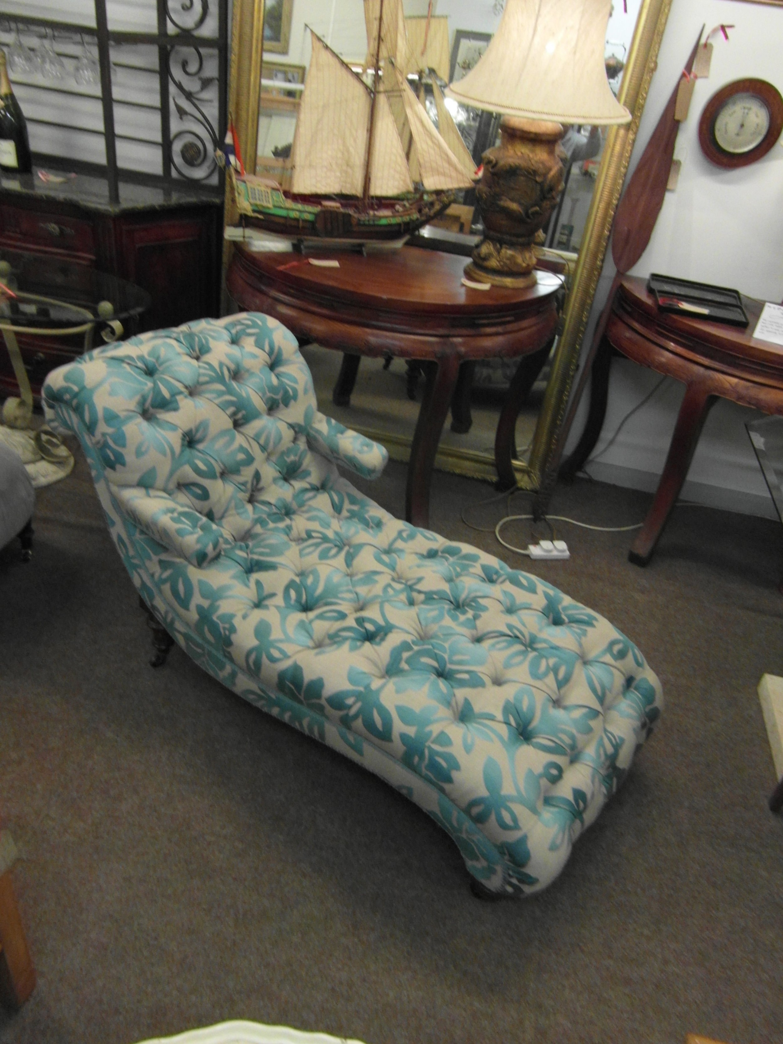 victorian chaise longue