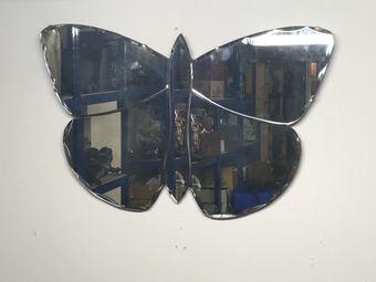 art deco butterfly mirror