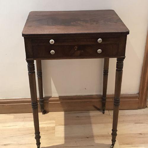 ladys georgian cuban mahogany writing table