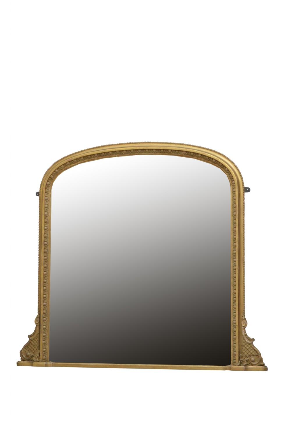 regency giltwood wall mirror