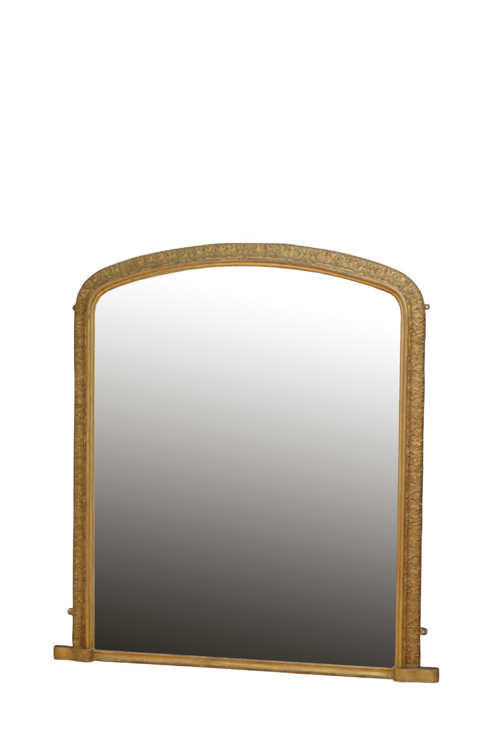 superb early victorian giltwood wall mirror