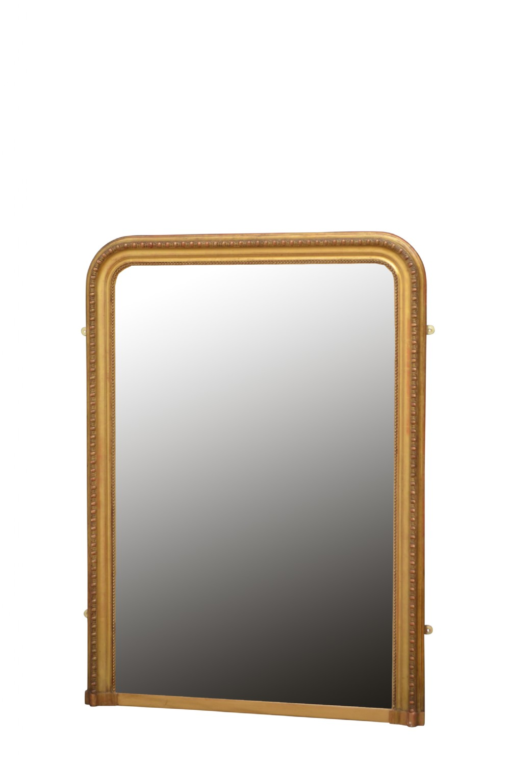 tall 19th century gilt mirror
