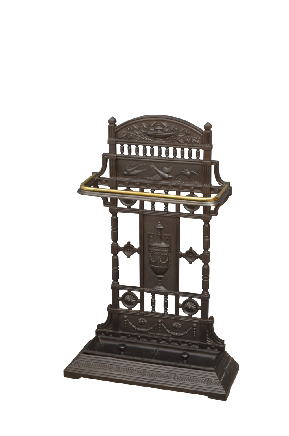 large aesthetic movement umbrella stand