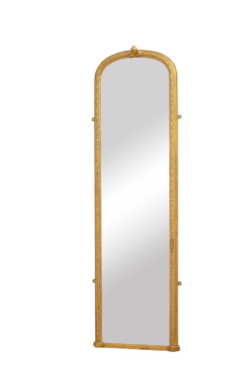 tall and slim early victorian pier mirror