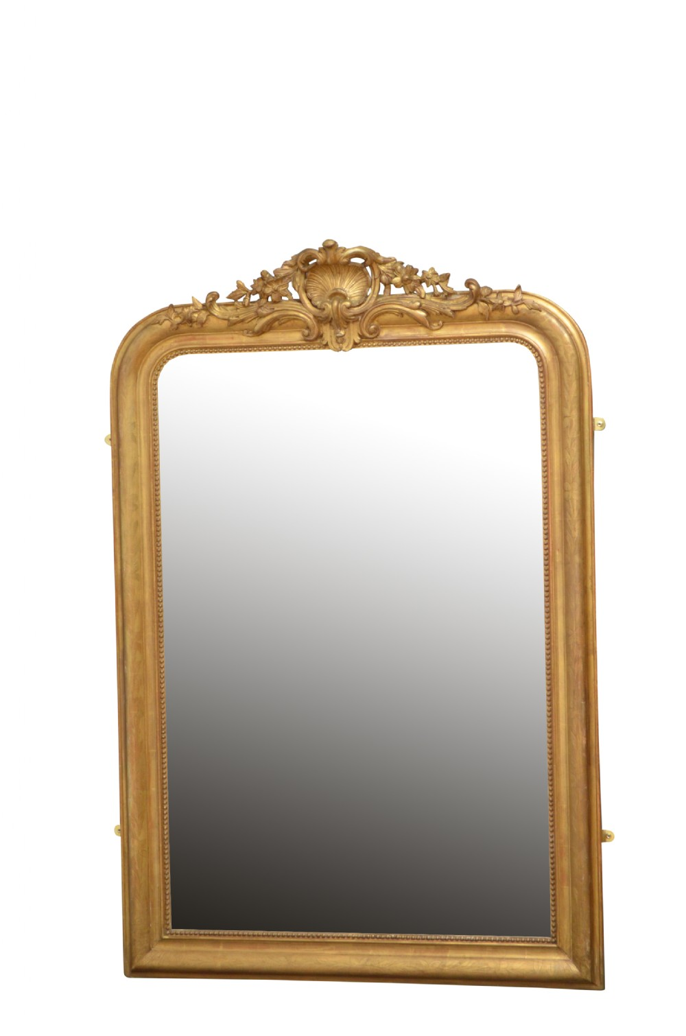19th century french giltwood mirror