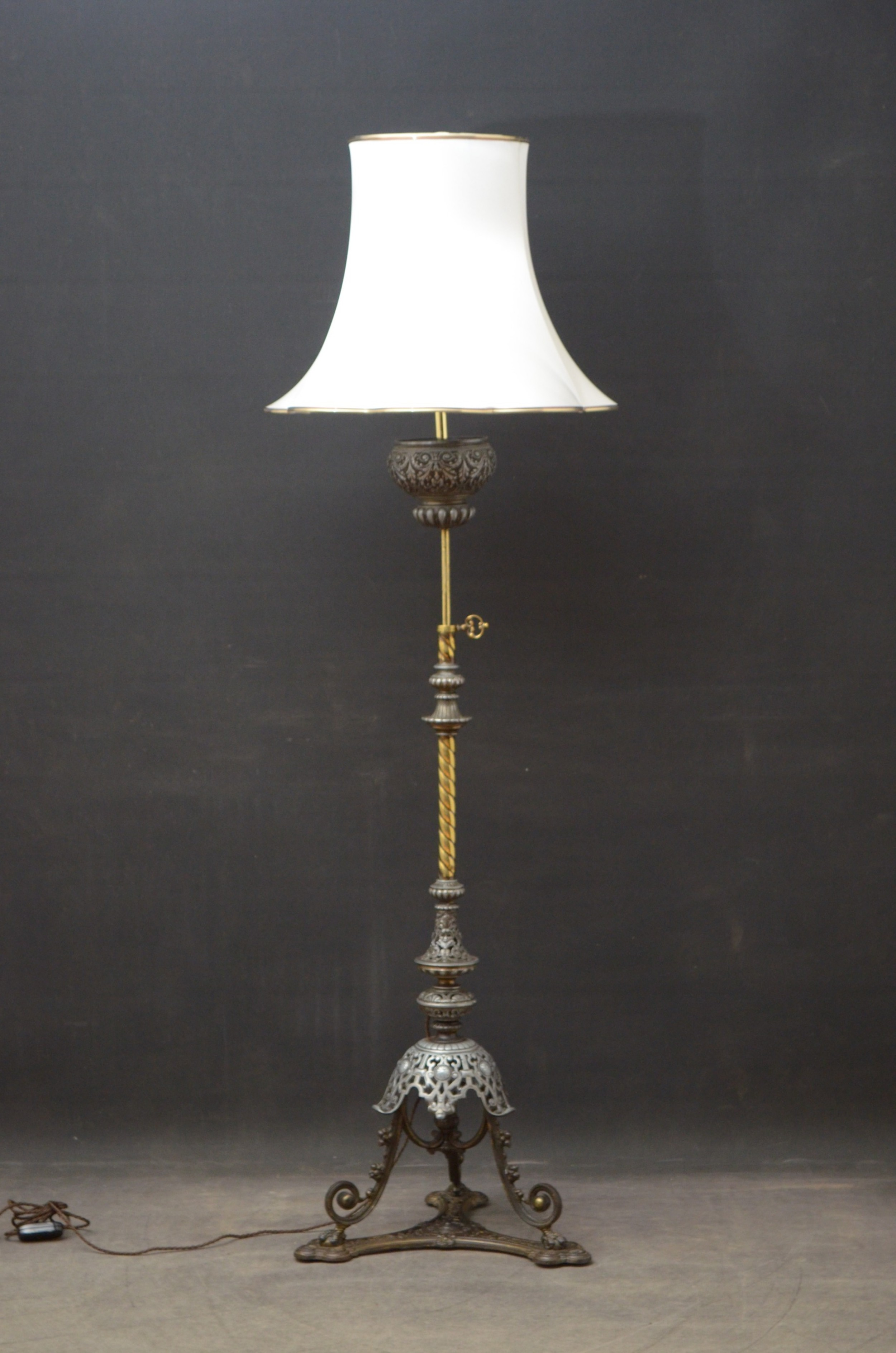 arts and crafts floor lamp