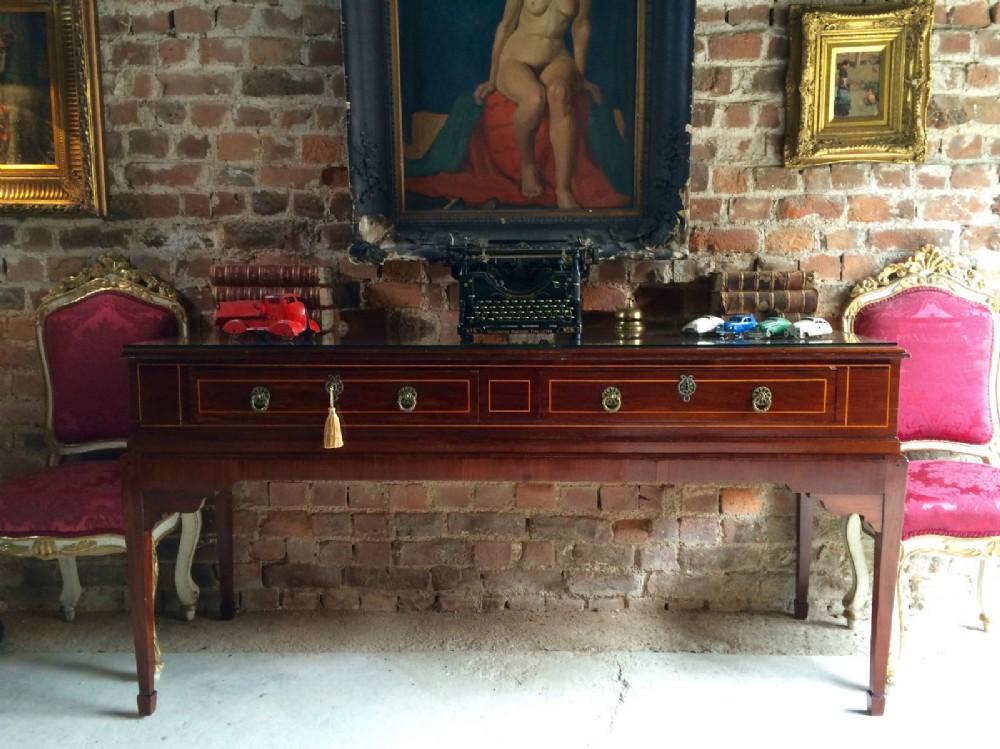 Credenza Console : Antique georgian piano table mahogany credenza console