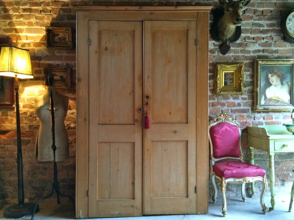 If you are handy though its entirely possible to build your own slab style cabinet doors Solid Pine Cupboard Doors