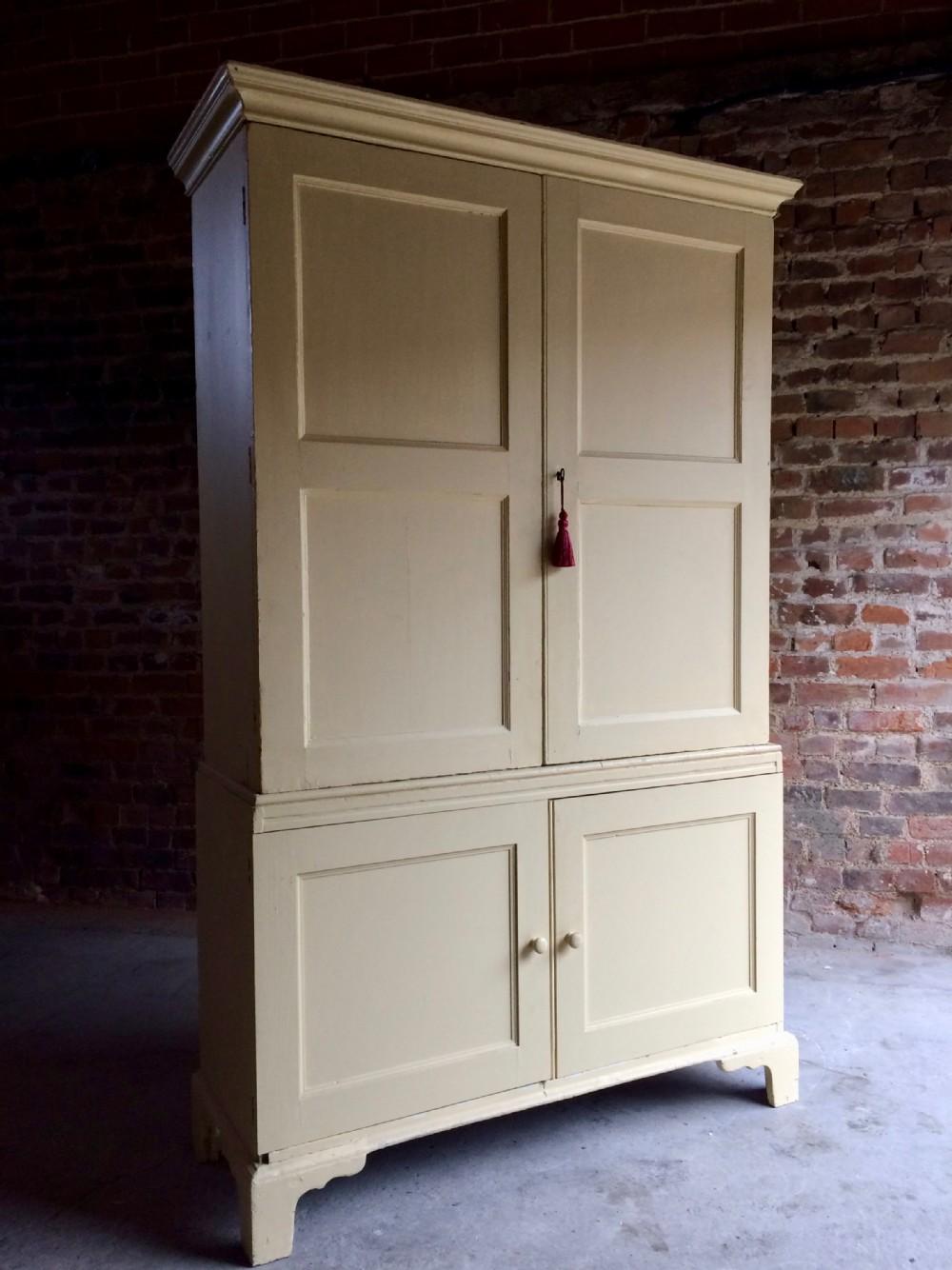 Antique Linen Cupboard - Antique Linen Cupboard Antique Furniture