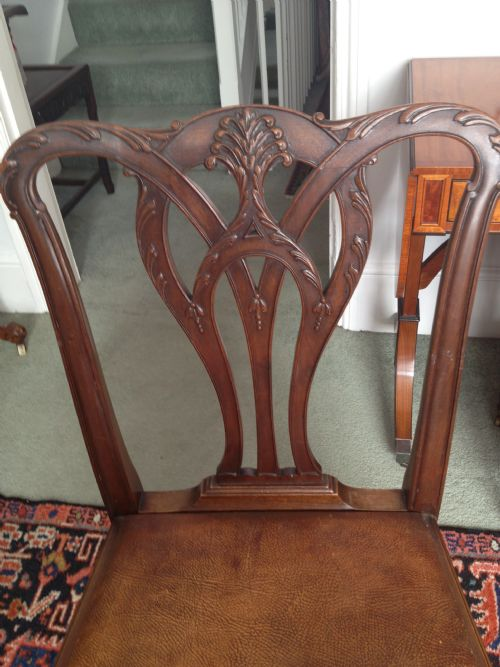 Superb Quality Set Of 8 Waring And Gillow Mahogany Dining ...