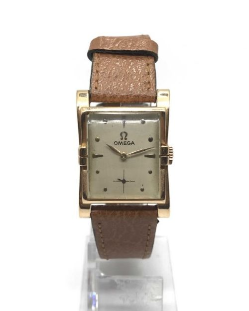 omega 18ct gold mechanical watch 1944