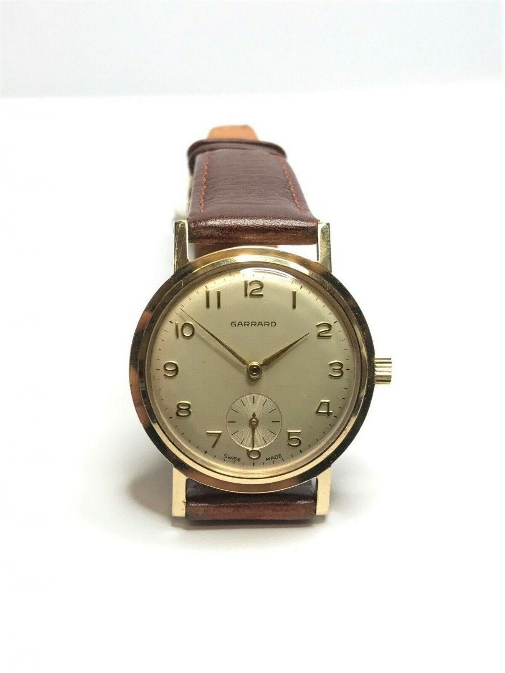 garrard 9ct gold mechanical 1964 watch
