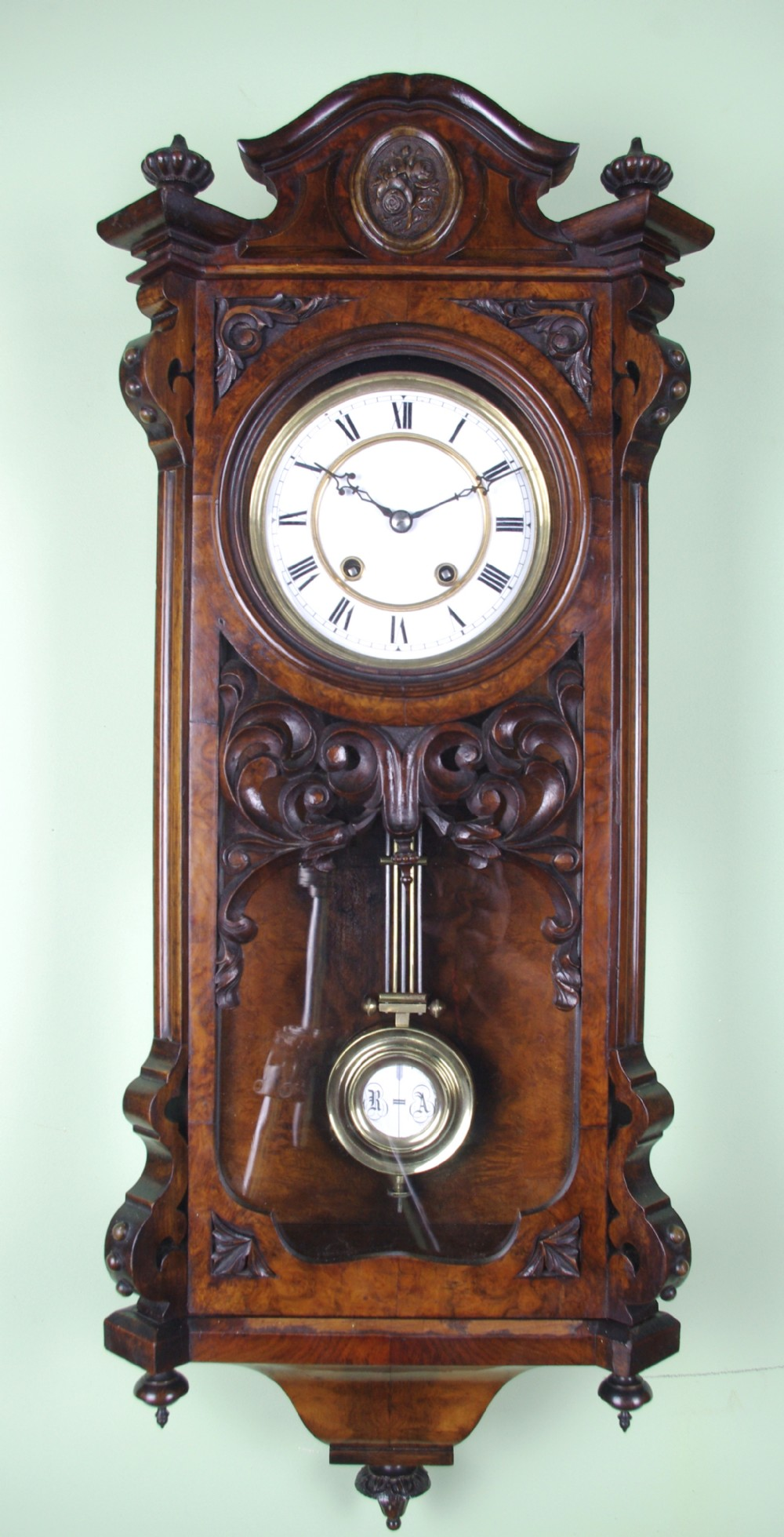 Fabulous Lenzkirch Wall Clock 372171 Sellingantiques Co Uk