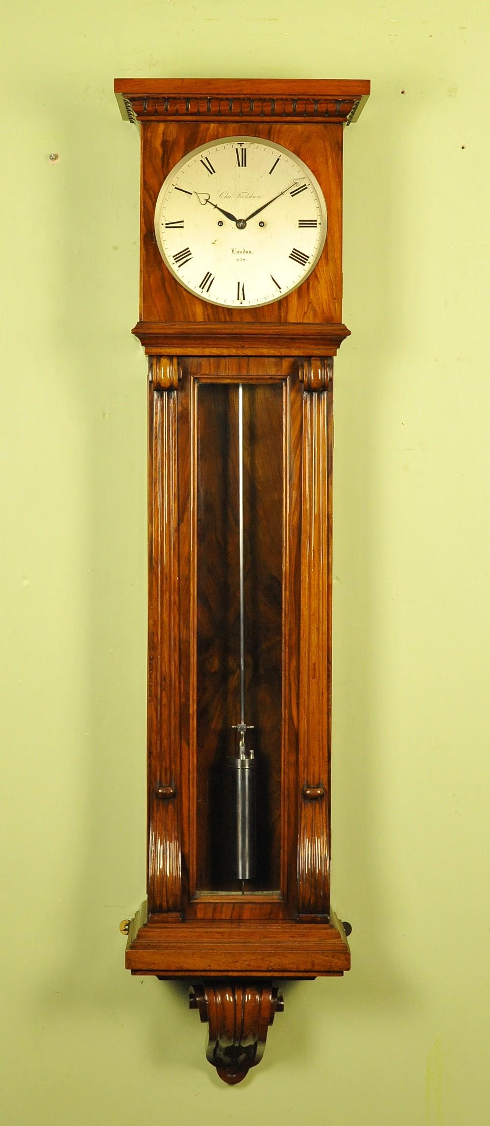 sublime wall regulator clock charles frodsham london